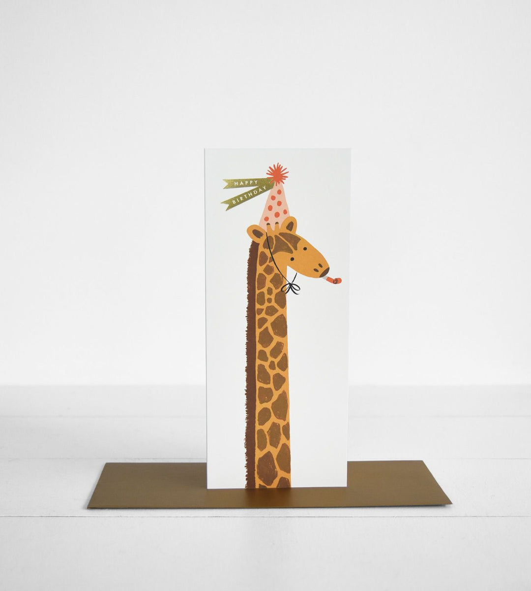 Rifle Paper Co. |  Giraffe Birthday Card