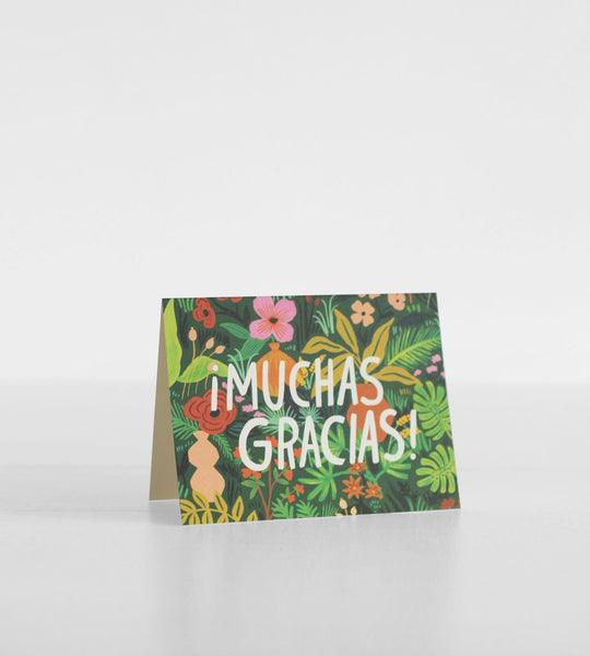 Rifle Paper Co. | Floral Muchas Gracias! Thank You Card