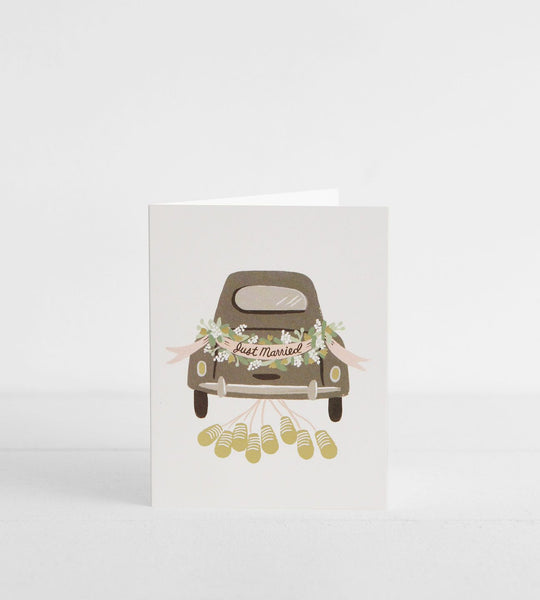Rifle Paper Co. | Just Married Getaway Card