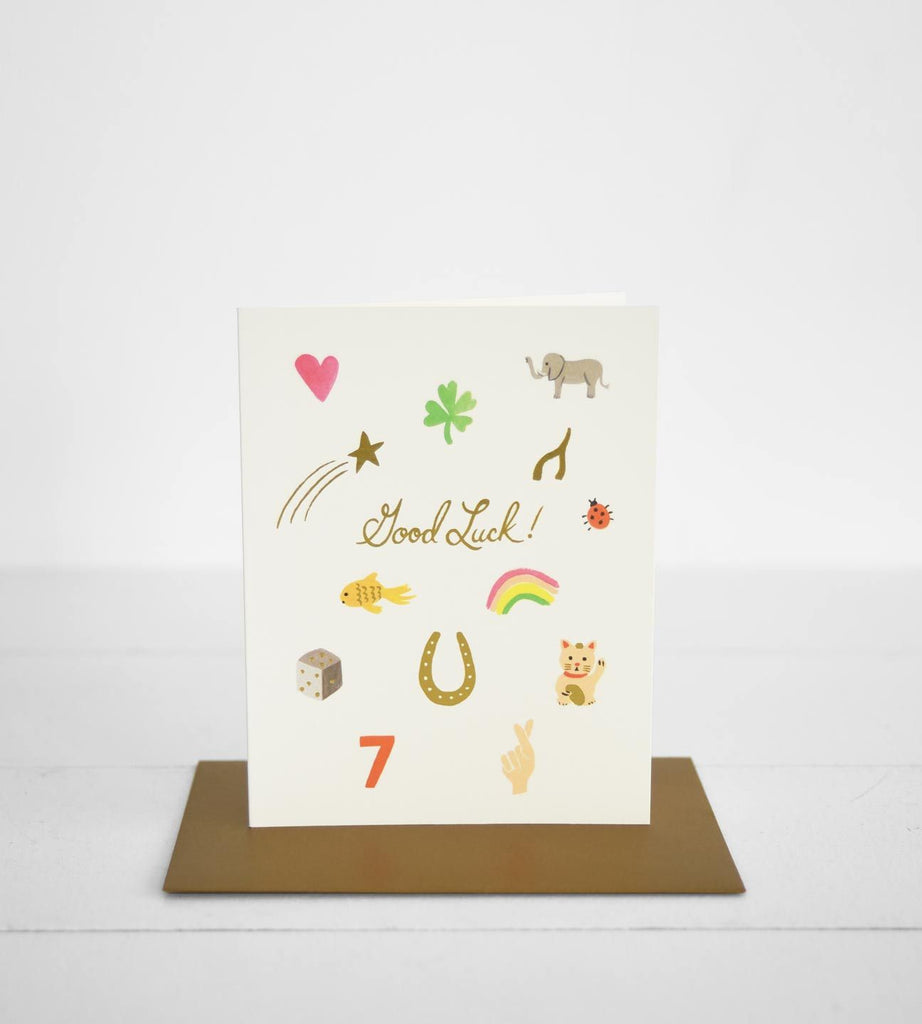 Rifle Paper Co. | Good Luck Charms Card