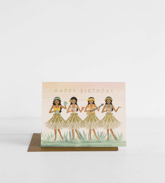 Rifle Paper Co. |  Hula Birthday Card