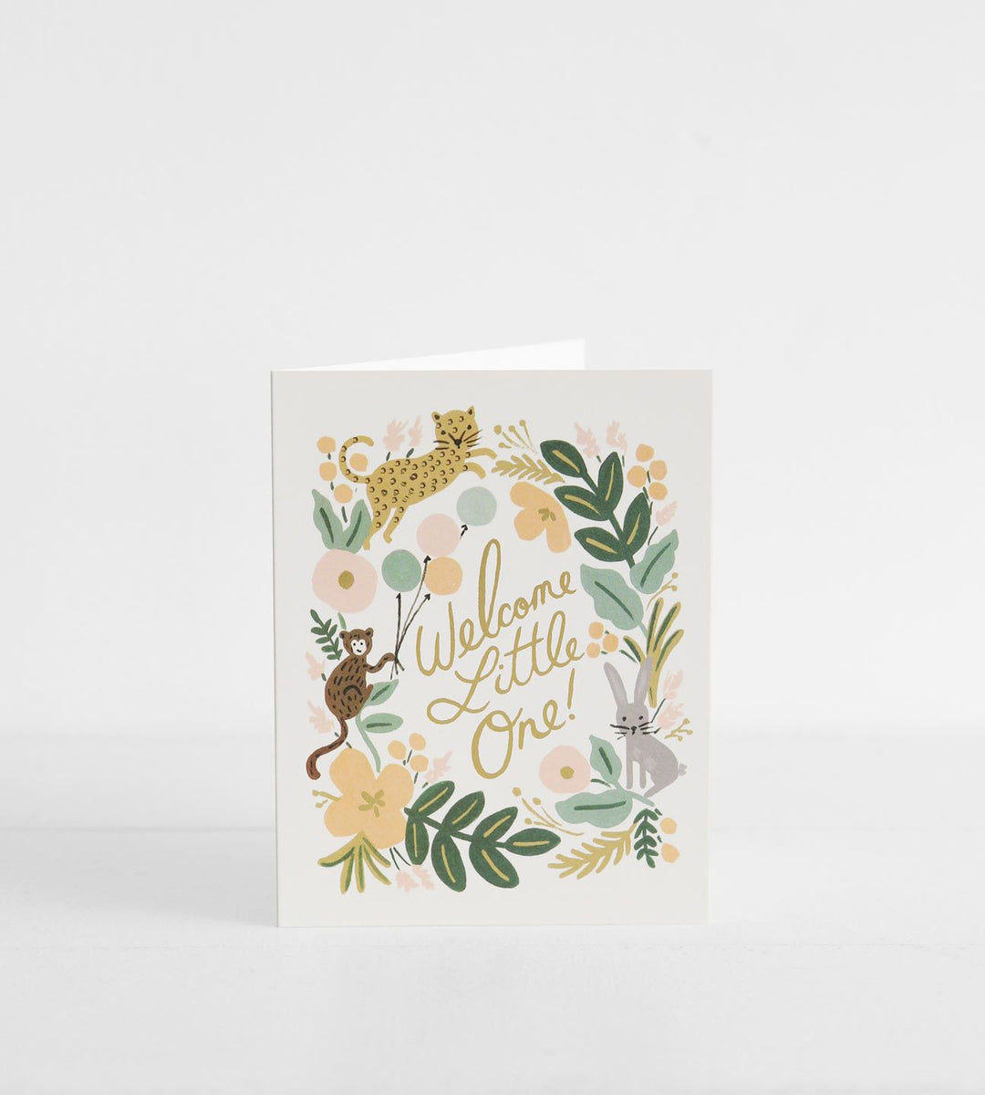 Rifle Paper Co. |  Menagerie Baby Card