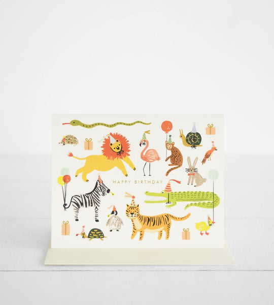 Rifle Paper Co. | Party Animals Card