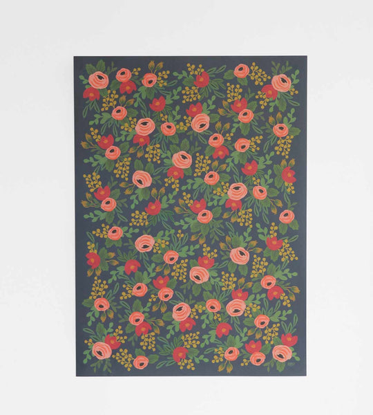 Rifle Paper | Wrapping Sheet | Rosa