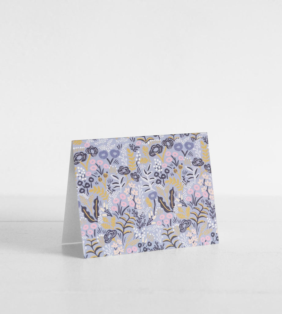 Rifle Paper Co. | Tapestry Cobalt Card