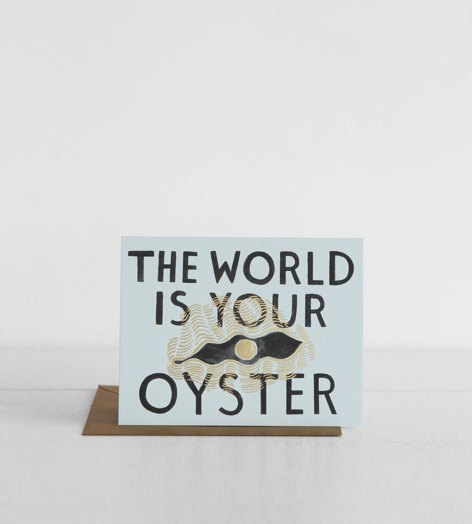 Rifle Paper Co. |  The World Is Your Oyster
