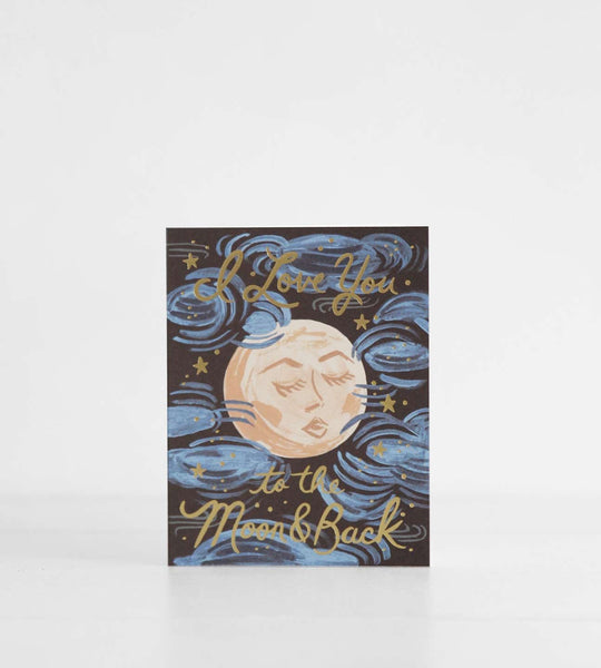 Rifle Paper Co. | To the Moon and Back Card