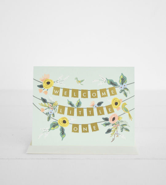 Rifle Paper Co. | Welcome Garland Card