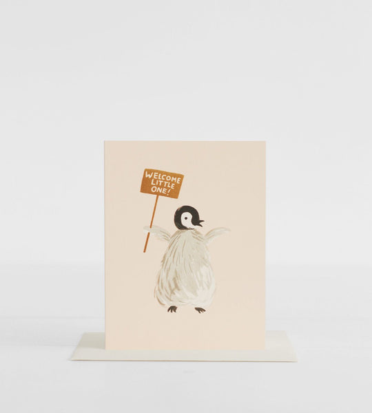 Rifle Paper Co. | Welcome Penguin Card