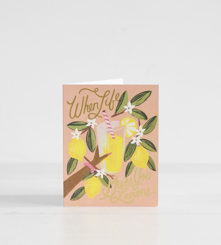 Rifle Paper Co. | When Life Gives You Lemons Card