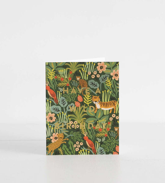 Rifle Paper Co. |  Wild Birthday Card