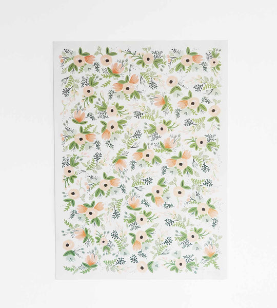 Rifle Paper | Wrapping Sheet | Wild Flower