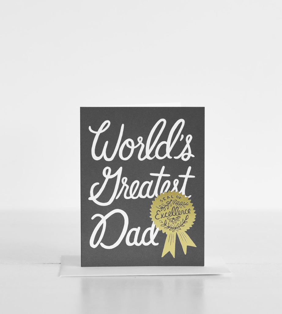Rifle Paper Co. | World's Greatest Dad Card