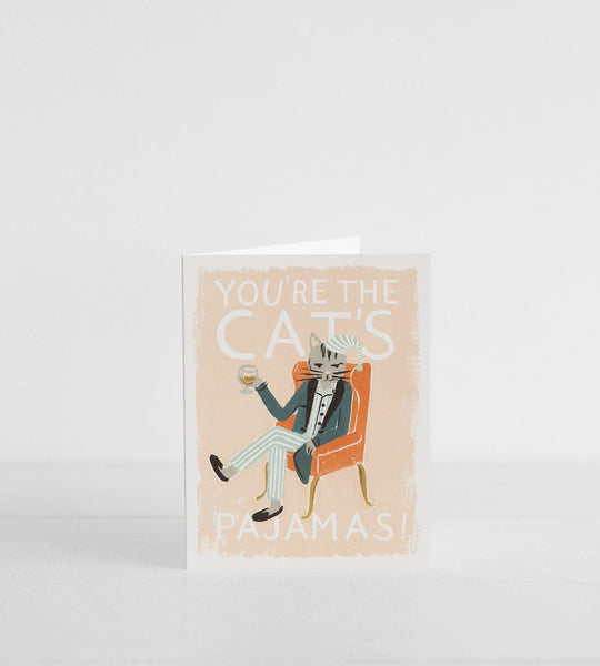 Rifle Paper Co. |  You're the Cat's Pajamas Card