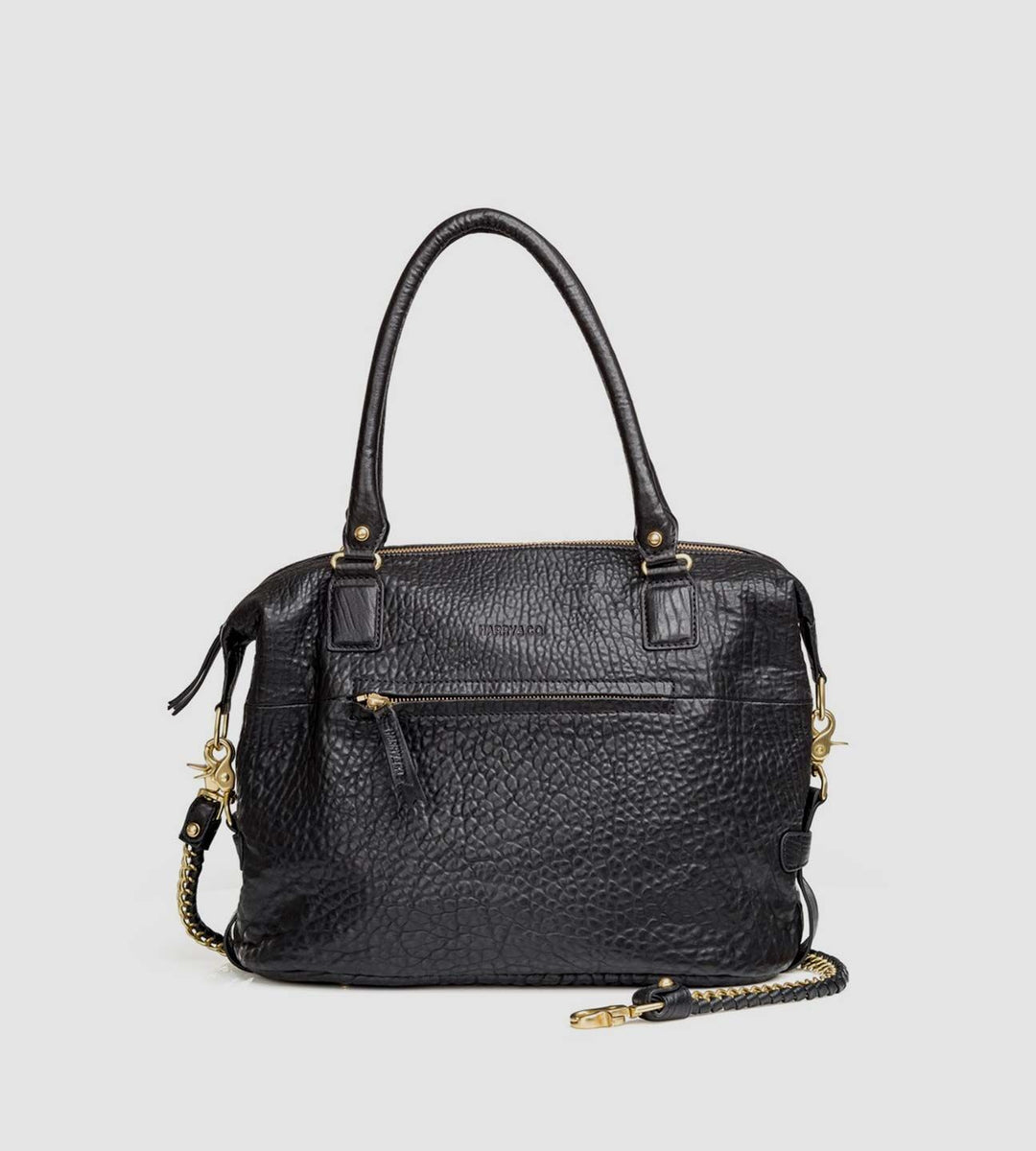Harry & Co. | Jackie Bag | Bubble Leather | Black
