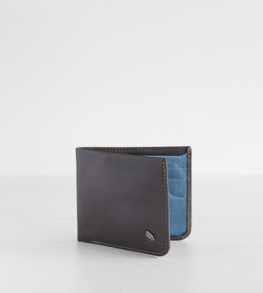Bellroy | Hide & Seek Wallet | Charcoal & Arctic