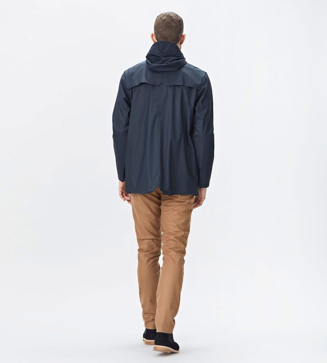 Rains Jacket Navy Blue