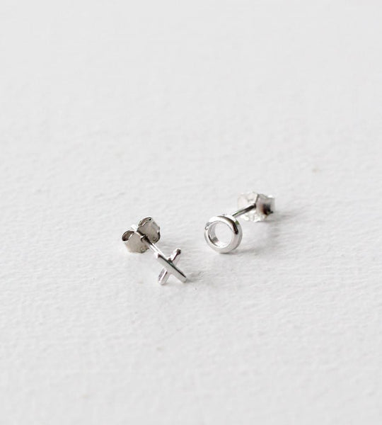Sophie | Ex Oh Earrings | Silver
