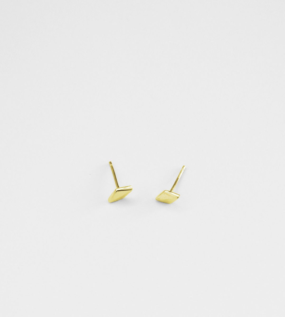 Sophie | Diamond Stud Earrings | Gold
