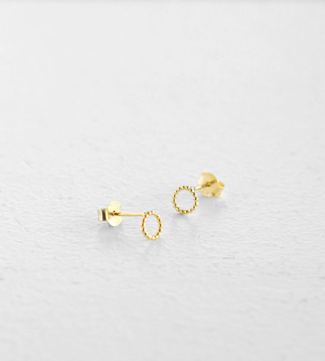 Sophie | Dotty Oh Earrings | Gold