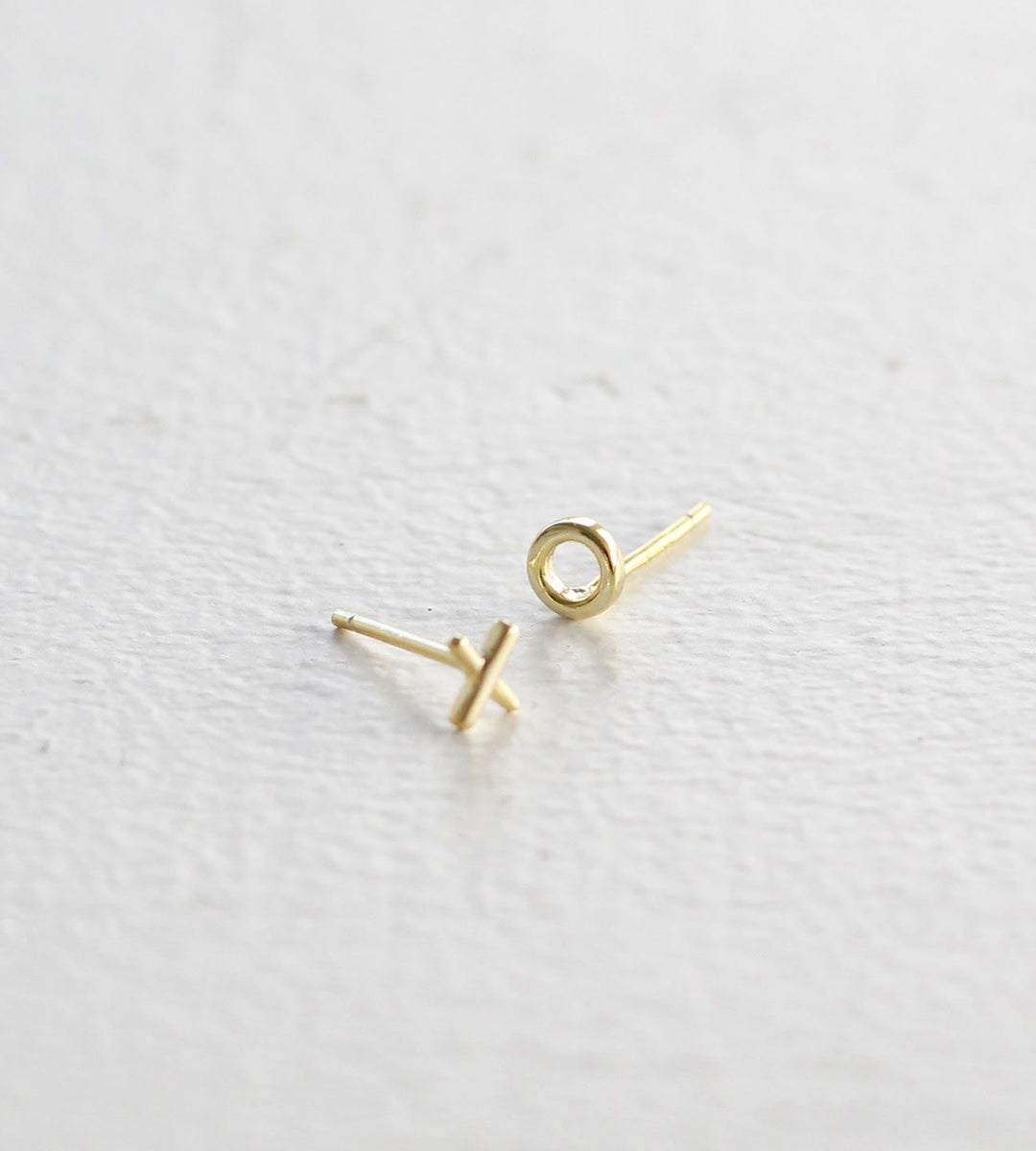 Sophie | Ex Oh Earrings | Gold