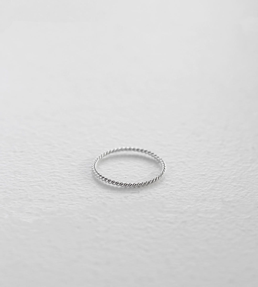 Sophie | Twist Band | Silver