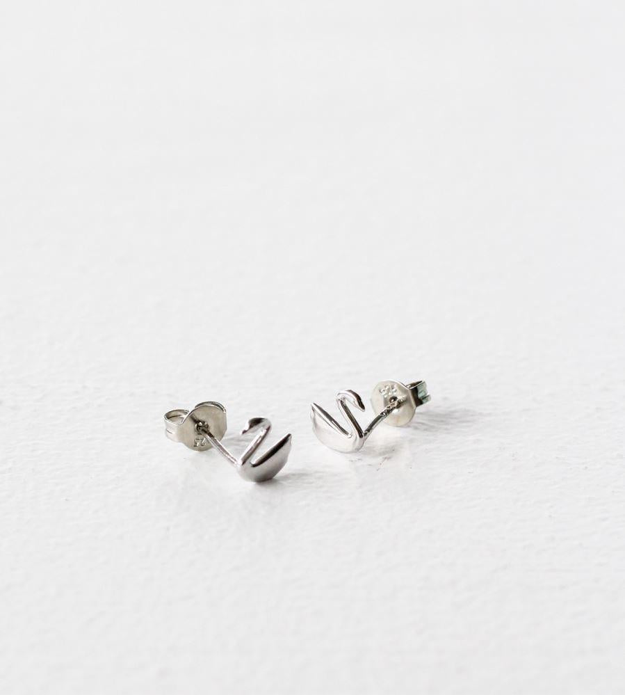 Sophie | Swanning Earrings | Silver