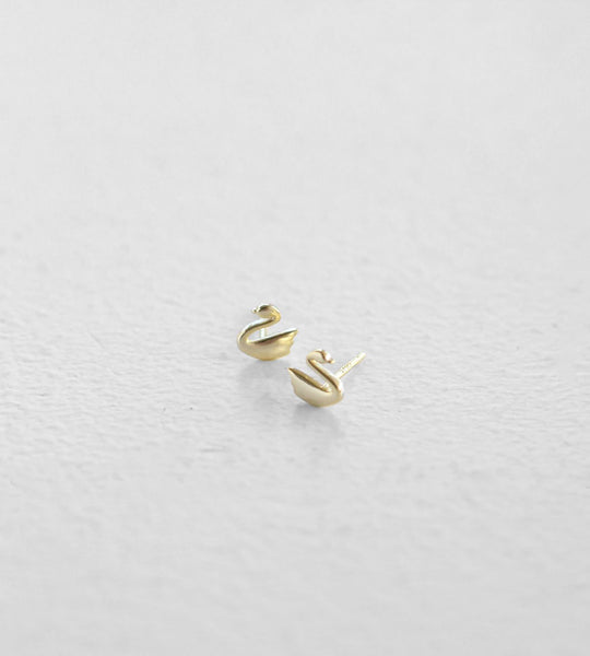 Sophie | Swanning Earrings | Gold