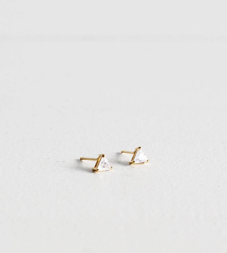 Sophie | You Rock Earrings Triangle | Gold