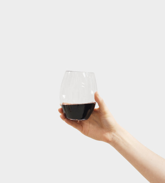 Plumm Stemless | Red Wine Glass