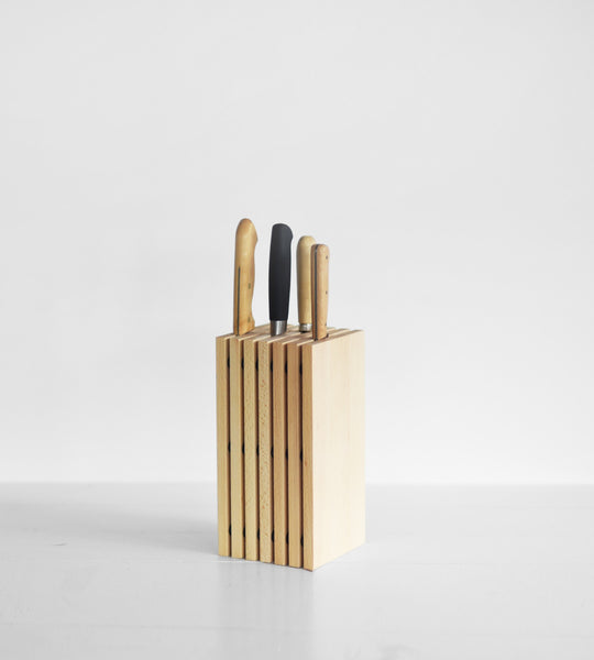 Beechwood Knife Block