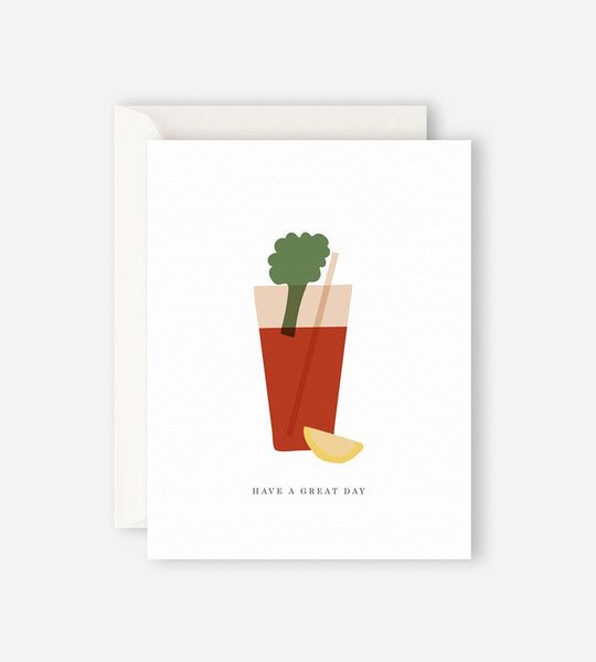 Father Rabbit Stationery | Bloody Mary Card