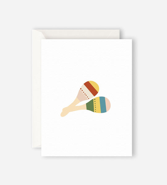 Father Rabbit Stationery | Maracas Card