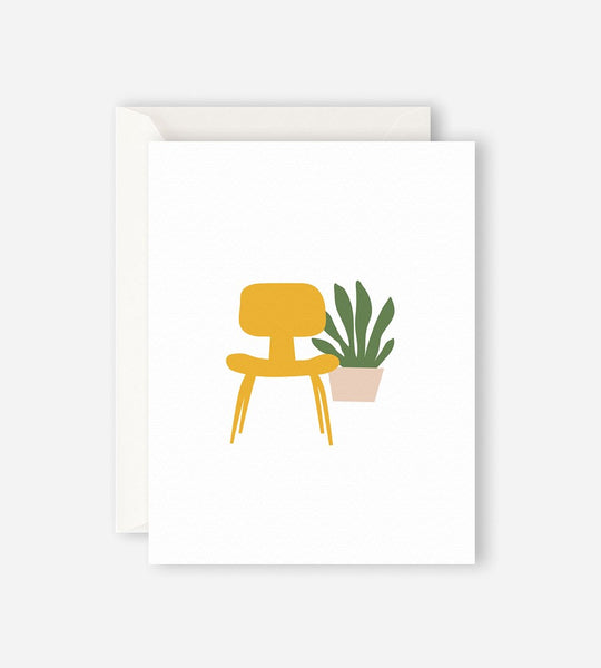 Father Rabbit Stationery | Yellow Chair Card