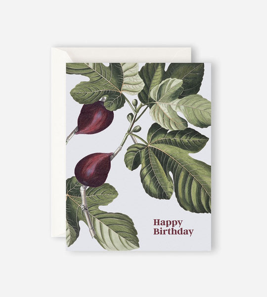Father Rabbit Stationery | Happy Birthday Fig Card