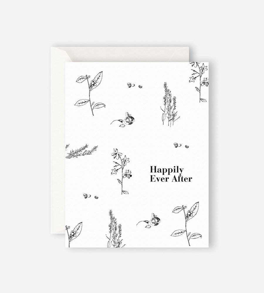 Father Rabbit Stationery | Garden Happily Ever After Card