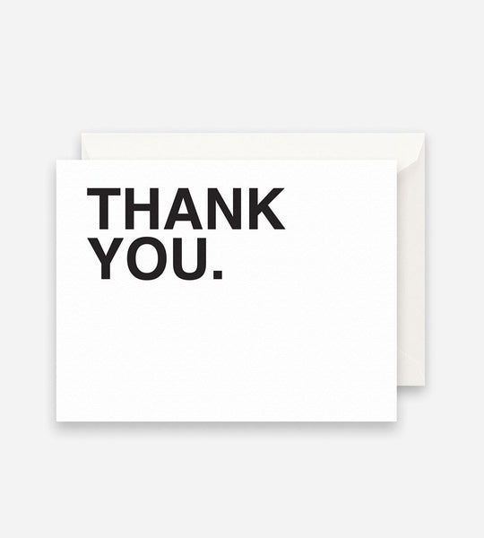 Father Rabbit Stationery | Bold Thank You Card