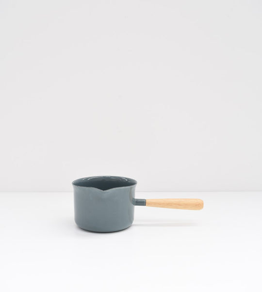 Grey Enamel | Butter Gravy Warmer