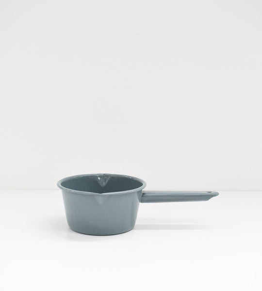 Grey Enamel | Milk Saucepan