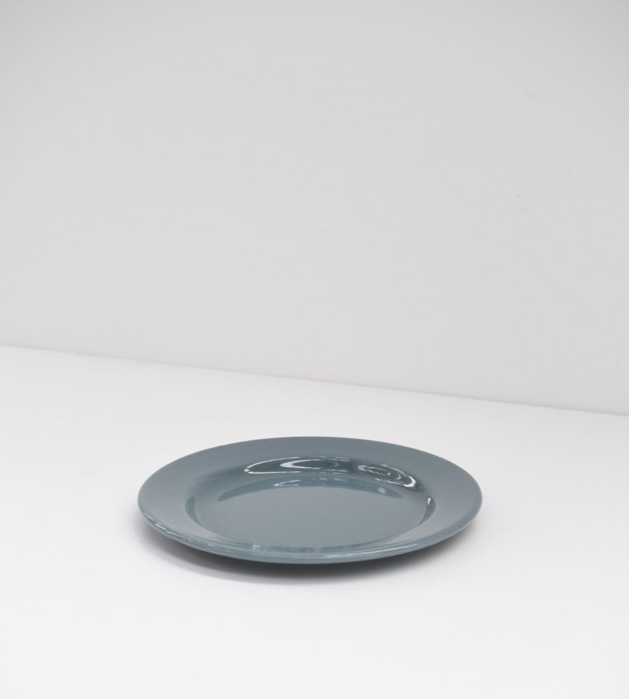 Grey Enamel | Side Plate