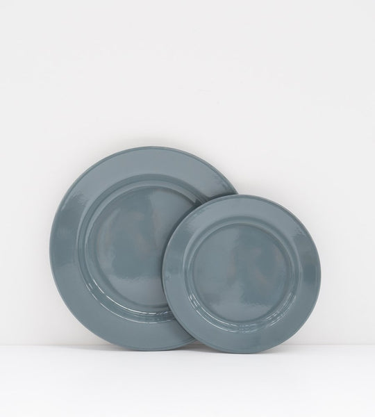 Grey Enamel | Dinner Plate