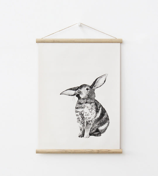 Father Rabbit | Bunny Wall Chart