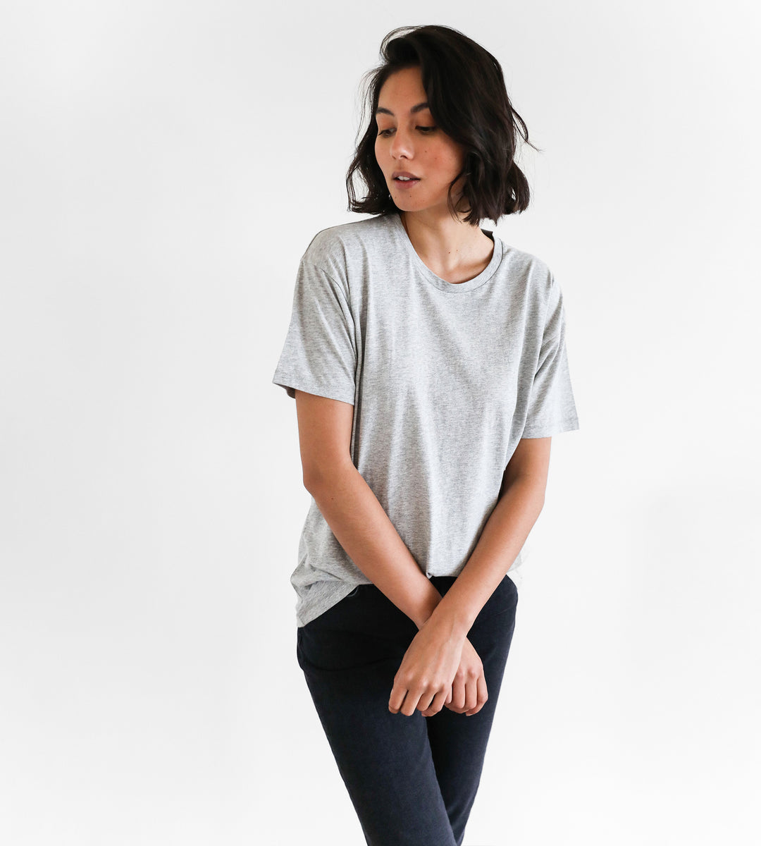 Father Rabbit | Classic Tee | Grey Marle