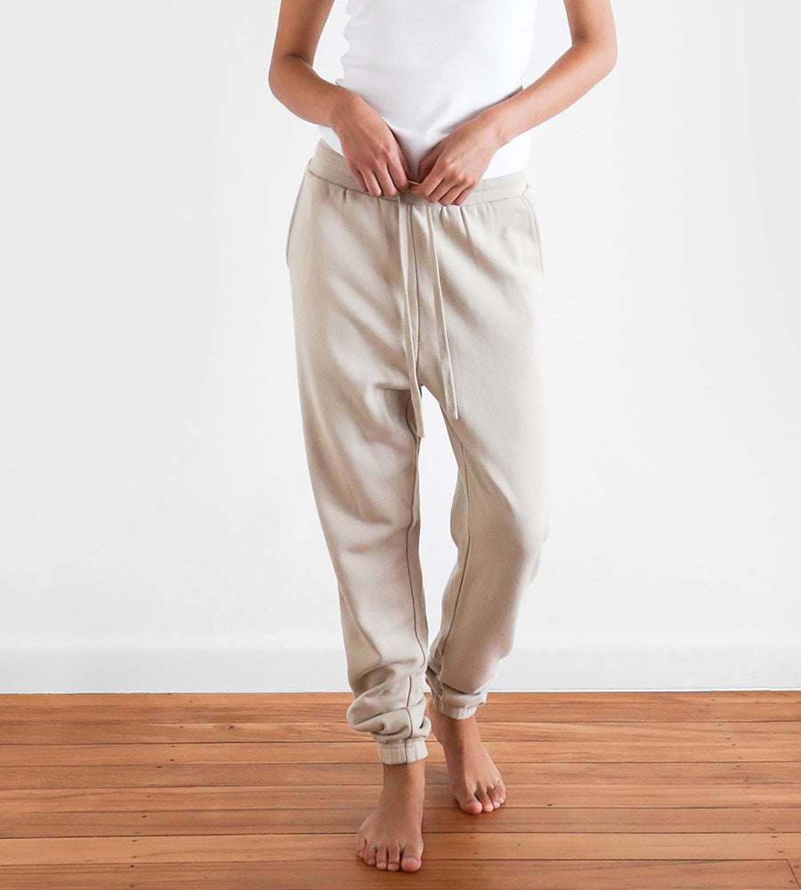 Father Rabbit | Classic Trackpants | Limestone