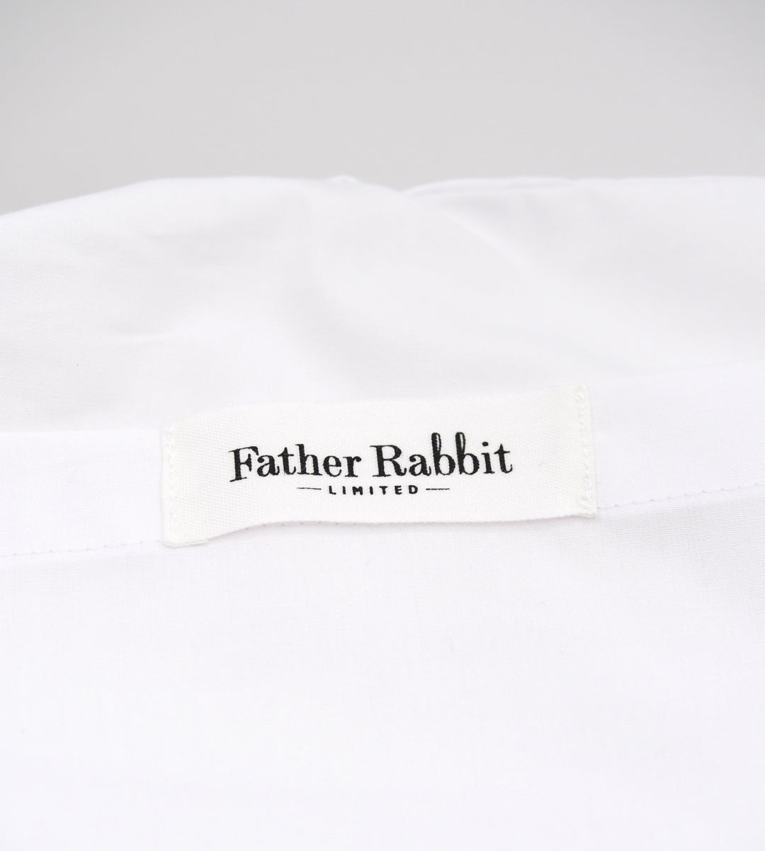 Father Rabbit Cotton Stars Pillowcase Single