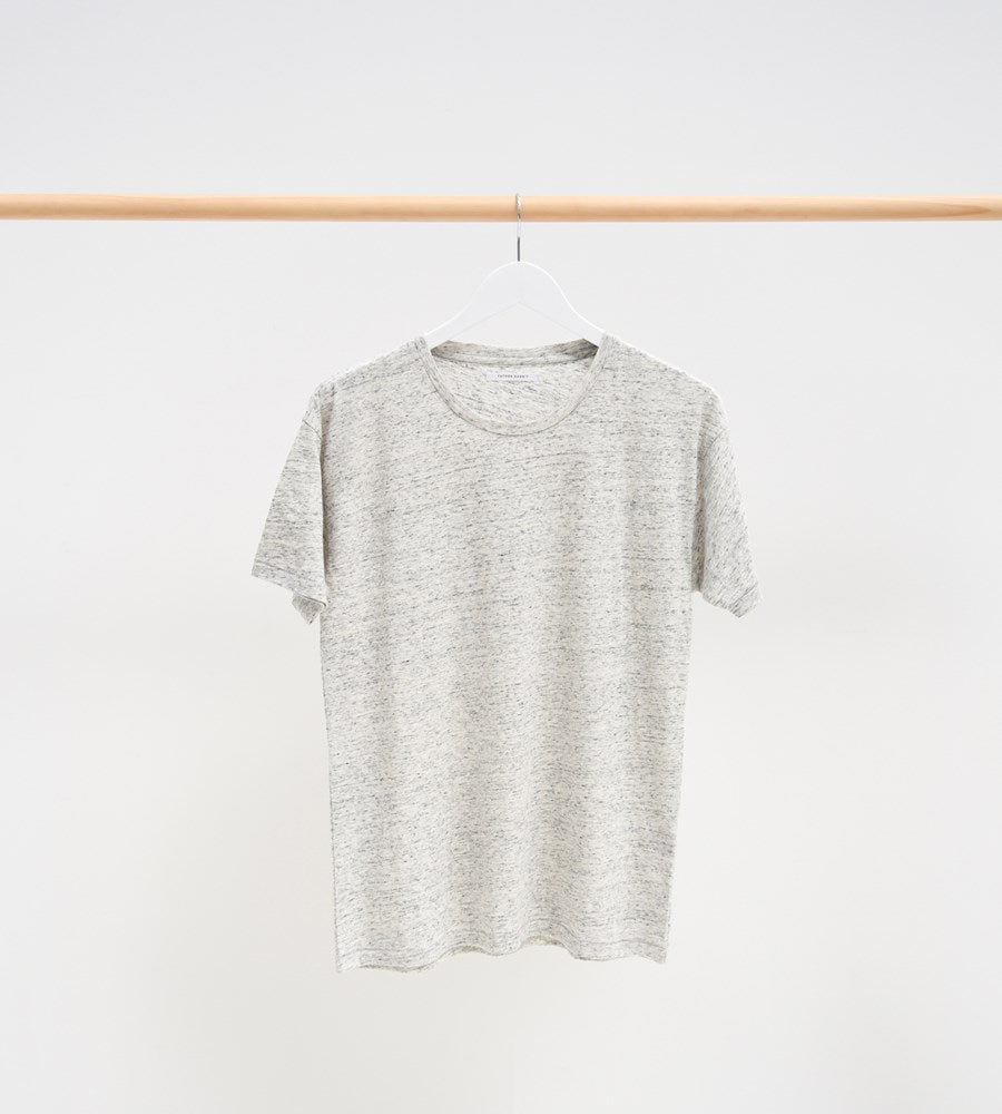 Father Rabbit Classic Tee Snow Marle