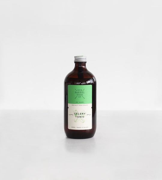 Six Barrel Soda Co. | Soda Syrup | Celery Tonic