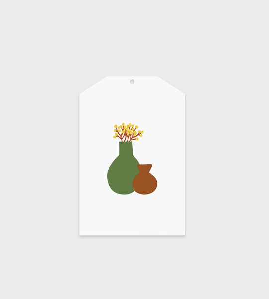 Father Rabbit Stationery Gift Tag | Still Life Vases