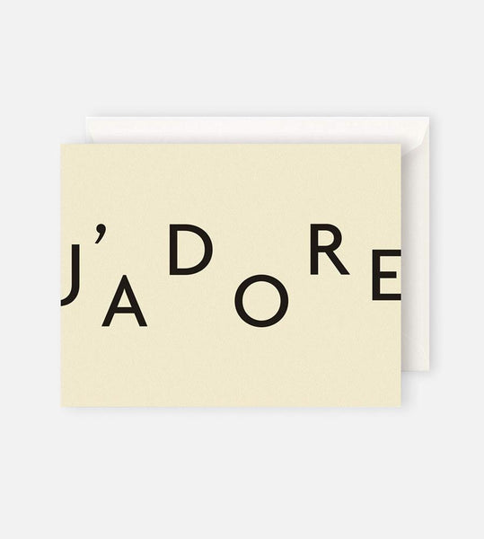 Father Rabbit Stationery | J'adore Card