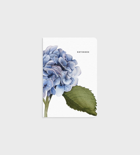 Father Rabbit Stationery Notebook Hydrangea